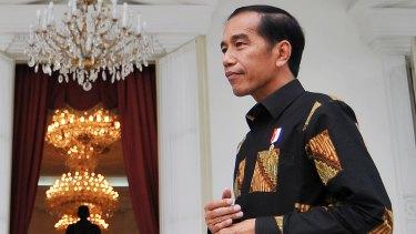 Cancelled trip to Australia as violence erupted: Indonesian President Joko Widodo.