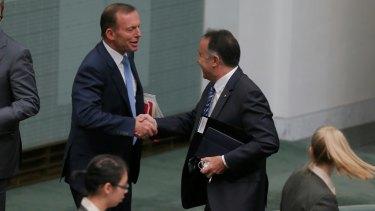 Mr Nikolic is close to former prime minister Tony Abbott.