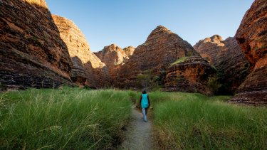 Indigenous singer/songwriter Bart Willoughby treks into the Cathedral Gorge.
