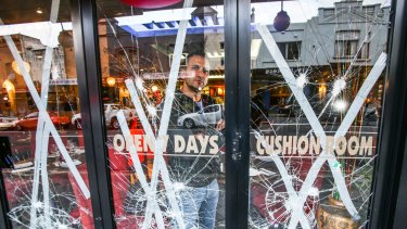 Mr Zouhour says his restaurant has been the subject of racial abuse.