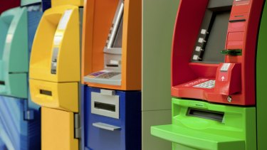 ATM withdrawals have fallen by about 7 per cent every year for the past four years.