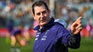 "Ross Lyon will be flanked by a ""High Performance Manager - Coaching"" next year."