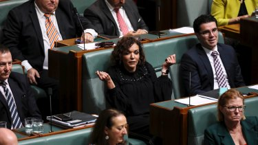 Anne Aly in QT today.