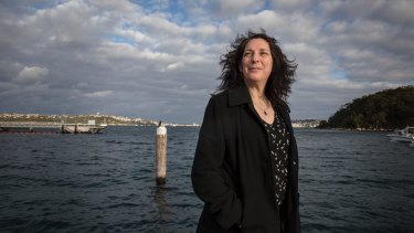 Edwina Tanner is lead author of the first study to measure Sydney Harbour's carbon dioxide emissions.