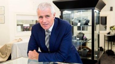Garry Holloway, owner of Holloway Diamonds in Brighton.
