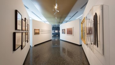 Inside one of Murray Art Museum Albury's 10 gallery spaces.