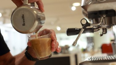 There's a lot of skill that goes into a barista-made coffee.