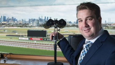Matthew Hill will call his first Melbourne Cup on Tuesday.