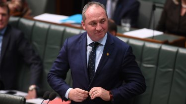 Deputy Prime Minister Barnaby Joyce won't recuse himself from his well-paid position.