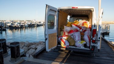 A record 1.2 tonnes of methamphetamine was seized.
