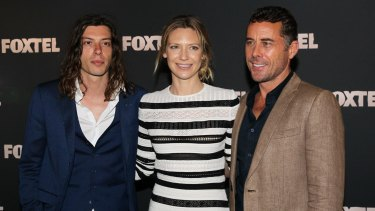 Thrillers: Benedict Samuel, Anna Torv and Marcus Graham will star in <i>Secret City.</i>