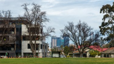 The apartment boom around East Brunswick has led the local council to ask the planning minister for higher building standards.