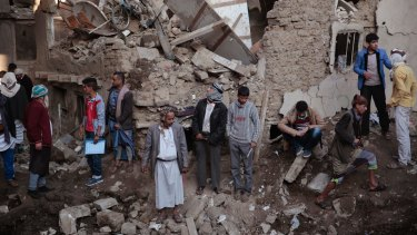 Yemen is suffering in part as a result of Saudi Arabia's attempts to reduce Iran's influence in the area.