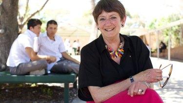 Holroyd High principal Dorothy Hoddinott, recipient of the 2014 Australian Human Rights Medal.