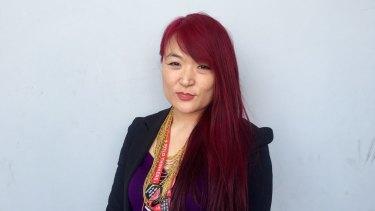 Jules Kim, CEO of the Scarlet Alliance, Australian Sex Workers Association.