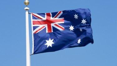 Austrailan flag.