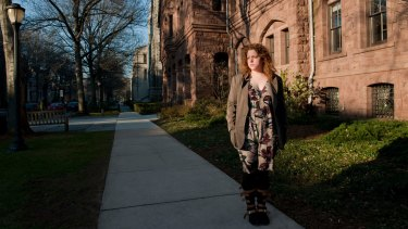 Yale University student Hannah Zeavin,  who signed a complaint accusing the university of violating Title IX.