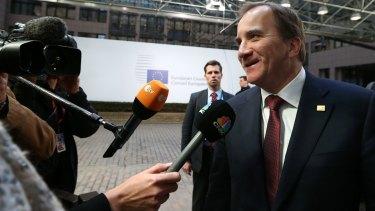 Sweden's Prime Minister Stefan Lofven.