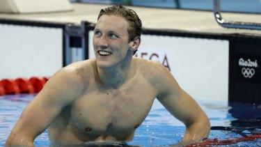 Mack Horton in Rio.