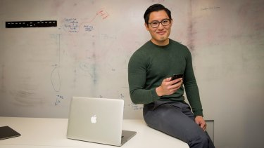 Jason Lim is using robo-advice to help him save for a house.