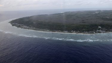 The Nauruan government confirmed two Australian citizens were slated for deportation.