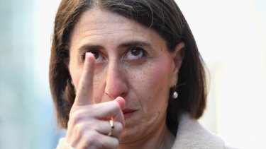 Ms Berejiklian says she has kept staffing bills lower than Labor despite the growth in well-paid employees in her own office.