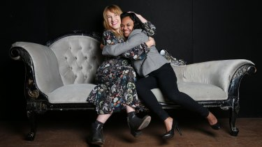Actor and playwright Kate Mulvany (pictured with Miranda Tapsell) will deliver the 2016 Philip Parsons Memorial Lecture at Belvoir St Theatre as part of the Sydney Writers' Festival.
