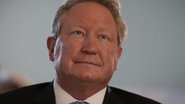 Andrew 'Twiggy' Forrest has been trying to stop mining on Minderoo station for years.