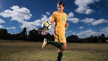 Matildas striker Sam Kerr is the best Australian soccer player, male or female.
