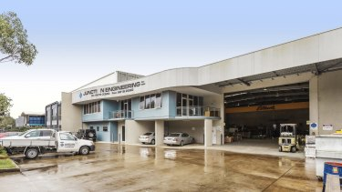 Bison Group P/L has leased a 1480sqm warehouse at 10 Garner Place.