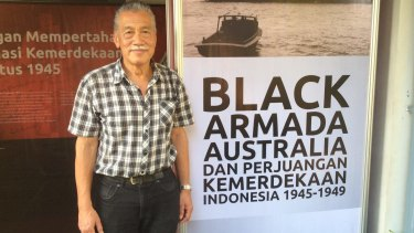 Anthony Liem, who lobbied for the Black Armada exhibition  after learning of his father-in-law's involvement.