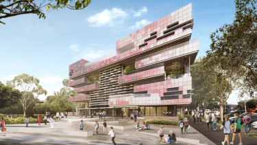 The $44m South Melbourne Primary School.