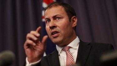 """We have to be very conscious that there will be a slow-down in the world economy"": Assistant Treasurer Josh Frydenberg."