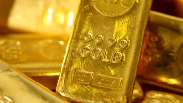 Gold has jumped 1 per cent to its highest level in nearly three months as worries about the political landscape in the United States and Europe, and a subdued dollar, reinforced investor interest.