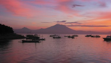 Sunrise in Bali, a destination which is set to become cheaper for Australians with the Indonesian government's plan to scrap visa fees.