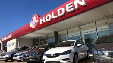 "Holden dealers accused General Motors of ""deceptive"" conduct."