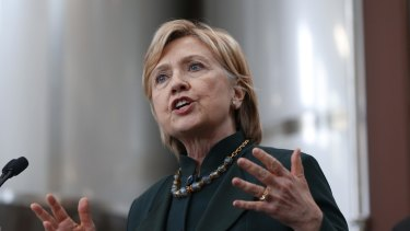 Democratic presidential candidate Hillary Clinton could attract anti-Trump Republican votes.
