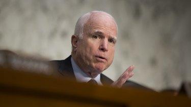 Republican Senator John McCain whose former advisor has already declared support for Clinton.