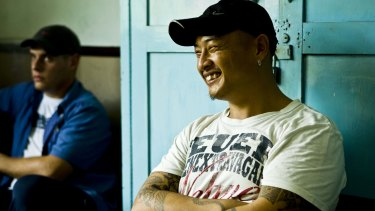 Life hangs in the balance ... Bali 9 member Andrew Chan in Bali's Kerobokan Jail in 2010.