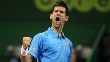 Advantage Djokovic: The Serbian world No.2 beat rival Andy Murray to win the Qatar Open.