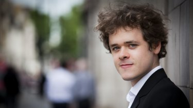 Celebrated British pianist Benjamin Grosvenor is touring Australia this month.