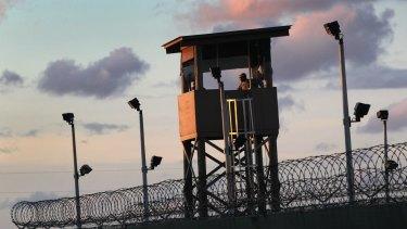 Guantanamo Bay detention centre in 2010.