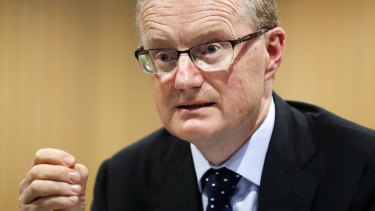 Philip Lowe said the RBA would be reluctant to cut rates, even if weak wage growth and weak inflation made it appear necessary.