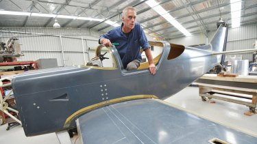 Can he make it fly? Reseacher Martin Williams, who lobbies for clinical trials of psychedelic drugs like magic mushrooms, is also building a Glasair IIS-TD.