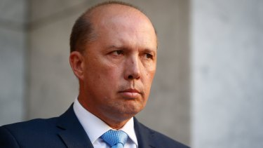 Immigration Minister Peter Dutton has blamed Labor for the payout.