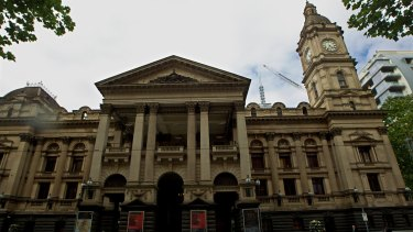 Melbourne Town Hall.