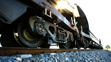 Aurizon said it was writing down the value of its rolling stock - carriages and locomotives - by $29 million before tax.
