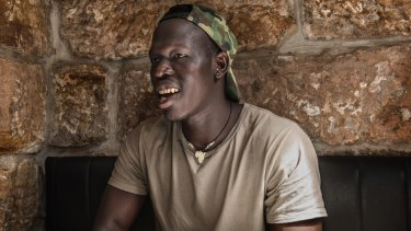 """I didn't pick up AFL until I was probably in year 9 ... I'd never heard of it"": Sydney Swans player Aliir Aliir."