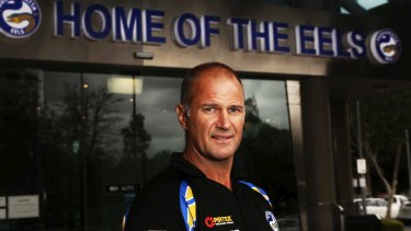 New deal: Parramatta coach Brad Arthur.