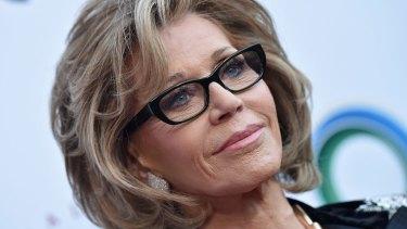 Jane Fonda looking hot.